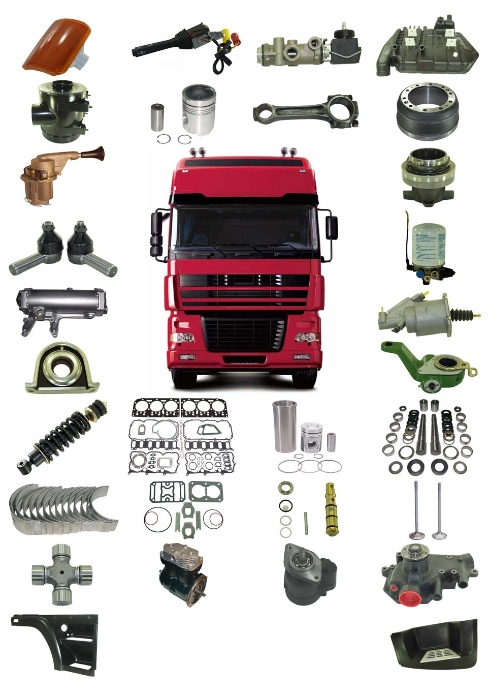 Truck Parts Logo Truck Spare Parts